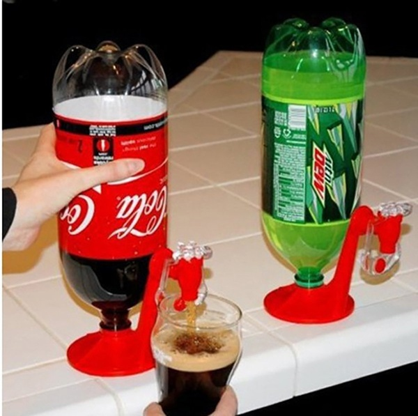 Drinker Mini Switch Drinker Coke Inverter red as shown in figure