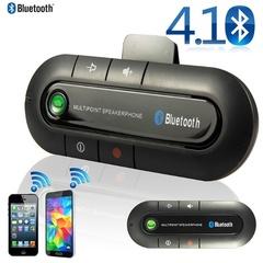 Sun Visor Car Bluetooth 4.1 Car Hands-free Phone black as shown in the figure