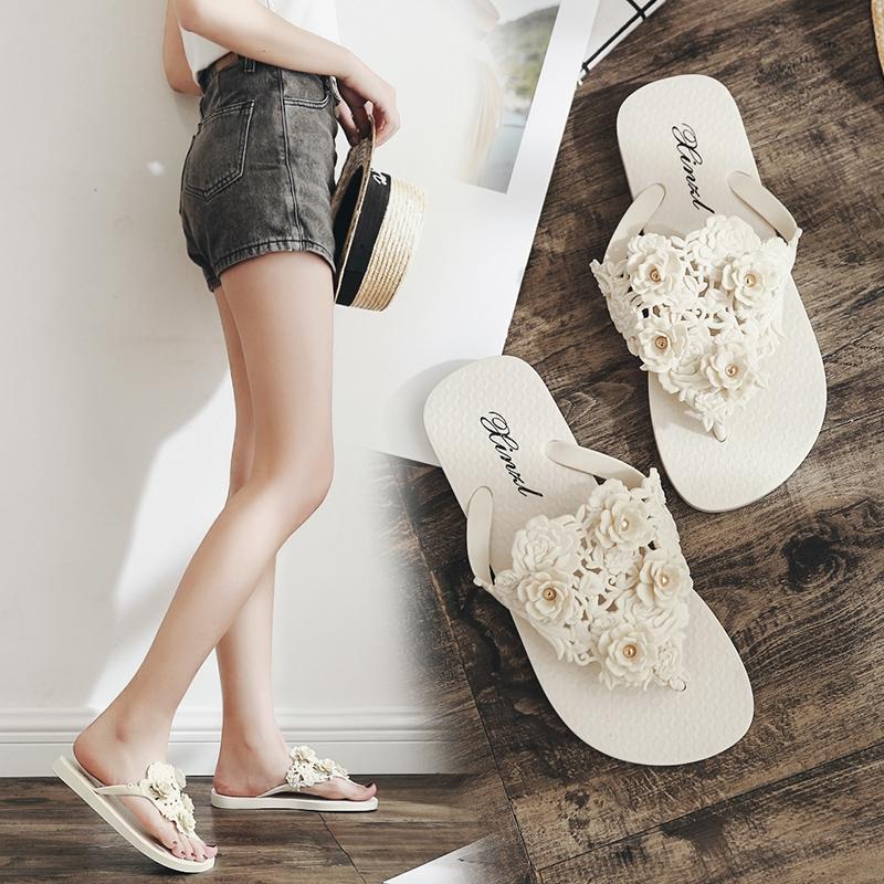e4c6d62c37a MONDAY Summer Women Slippers Flip Women Sandals Female Beach Shoes ...