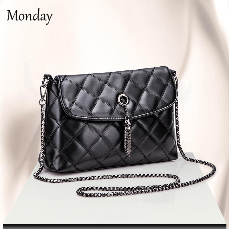 abff48f4a2 MONDAY Shoulder Bags Tote Purse Satchel Women Messenger Bag Rhomboids Women's  Shoulder Bag black 27*18*8cm: Product No: 638934. Item specifics: Brand: