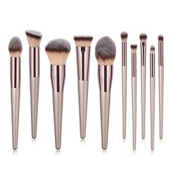 4/9/10Pcs Makeup Brush Set Foundation Eyebrow Eyeliner Blush Brush Soft Hair Cosmetics Beauty Tools 10pcs/Set