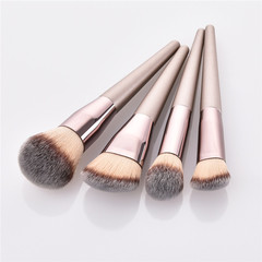 4/9/10Pcs Makeup Brush Set Foundation Eyebrow Eyeliner Blush Brush Soft Hair Cosmetics Beauty Tools 4pcs/Set