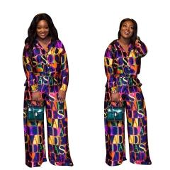 2018 Digital Printing Suit Two Sets Of Long sleeve Feet Pants Comfortable High Quality Streetwear printed s
