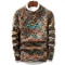 2018 Ins Hot Sale Men's Fashion Pullover Sweater Male O-Neck Stripe Slim Fit Knitting Mens Sweaters multi color xl