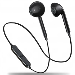 Sport Bluetooth Earphones Wireless Headphones Running Headset Stereo Super Bass Earbuds Sweatproof black
