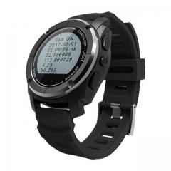 GPS Outdoor S928 Smart Watch Heart Rate Monitor Smart Wristband Sport Smartwatch black