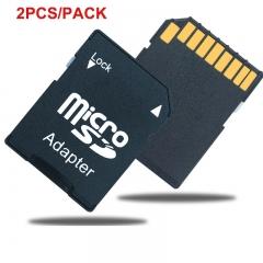 OKTOP 2PCS Popular Micro SD TransFlash TF to SD SDHC Memory Card Adapter Convert into SD Card high speed memory card Adapter sd card Adapter 2PCS camera memory card Adapter
