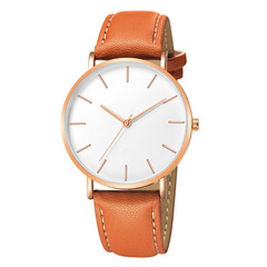 Fashion Geneva Fashion Men Date Alloy Case Synthetic Leather Analog Quartz Sport Watch mens watches a