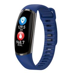 R16 Smart Bracelet Fitness Tracker Heart Rate Sleep Monitor Sport Smart Band Blood Pressure Watch blue