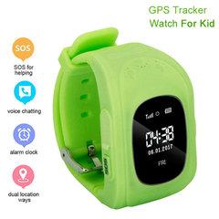 Q50 Smart Watch Pedometer SOS Kids Smart Baby Watch GPS Call Location Tracker Monitor VS Q90 Q360 green GPS