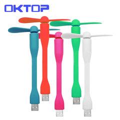OKTOP USB Mini Fans Usb Mini ventilador Portable Flexible USB Cooling Fan Cooler For Laptop Computer randomly color usb android fan f7 not