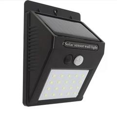 20LED Solar Powered Motion Sensor Light Garden Fence Patio Security Wall Light Lamp Night Light