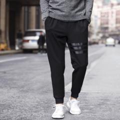 Fashion Tracksuit Bottoms Mens Pants Cotton Sweatpants Mens Joggers Striped Pants Gyms Clothing black 4XL