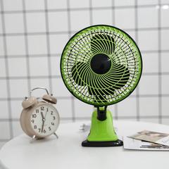 Mini electric fan home desktop small desktop dormitory shaking dormitory fan Desktop Small Fan green one size