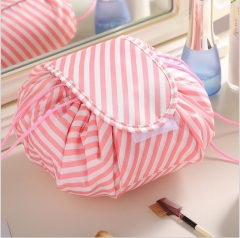 Women Drawstring Cosmetic Bag Fashion Travel Makeup Bag Organizer Makeup Case Storage Pouch Toiletry styleA One size