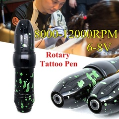 6-8V 8000-12000RPM rotary tattoo pen motor tattoo machine tattoo pen detachable tattoo machine