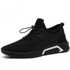 1 Pair Fashion Casual Men Sport Shoes Mesh Breathable Men Sneakers Running Shoes Men Brooklyn Shoes black with white 39