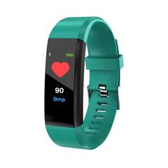 2019 New Digital Smart Watch Men Women Heart Rate Monitor Fitness Tracker Smartwatch Sport Watch green