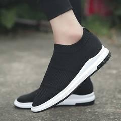 Arken Hot Sale Men Shoes Comfortable Breathable Lightweight Casual Shoes Coconut Shoes Sneakers black 39