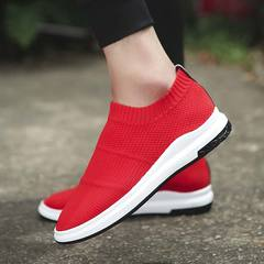 Arken Hot Sale Men Shoes Comfortable Breathable Lightweight Casual Shoes Coconut Shoes Sneakers red 44