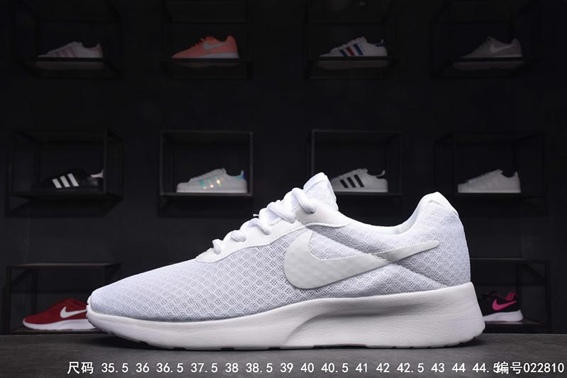 Fashion 1 Pair Nike Roshe Run London Third Air Shoes Breathable Mesh Women Shoes Unisex Sneakers black 36
