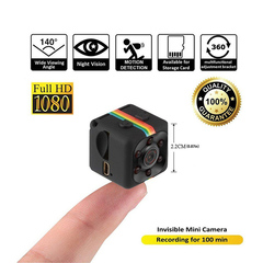 Mini Action Camera Sport DV 1080P Infrared Night Vision Monitor Concealed Camera Video Recorder black one size