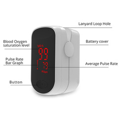 Monitor Finger Pulse Oximeter OLED display intelligent judgment of blood oxygenation