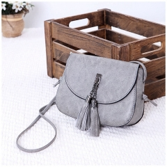 Explosion promotion in 2019, low price one day snapped up, Handbags, Fashion Shoulder Bags Red gray one size