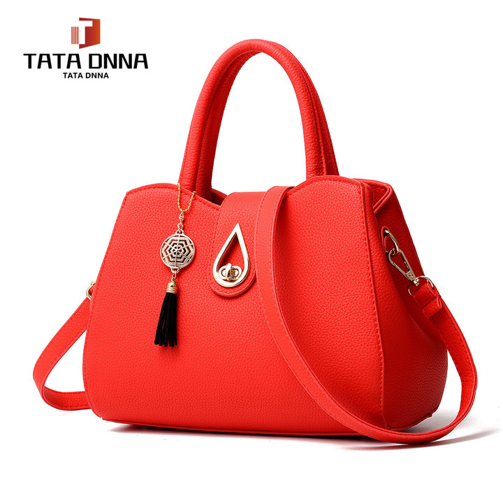 Limited new style promotions in 2019,Shoulder Bags Tote Purse Satchel Women Messenger Red one size