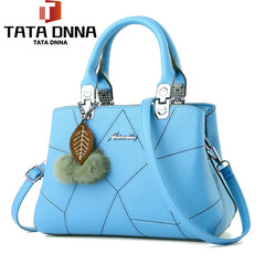 New style promotion in 2019, limited purchase, inexpensive,Handbags, Single Shoulder Slant Bags Light blue one size
