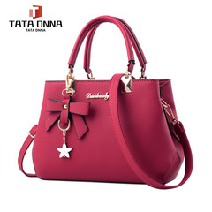 Promotion of New Fashion Styles, Promotion, Handbags, Sloping Single Shoulder Bags in 2019 pale red 27cm*19cm*10cm