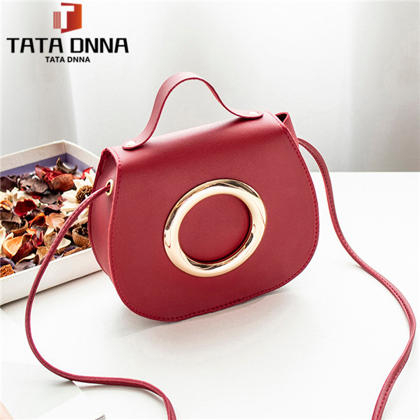 The new style of 2019, lady's bag, trendy one-shoulder inclined bag ,handbags red 18cm(L)x6cm(W)x15cm(H)