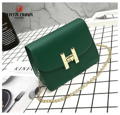 New Promotion in 2019, Crazy Buy, Special Price, Handbags, Single Shoulder Slant Bags green 18cmx8cmx13cm