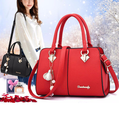 TATA Buy crazily, high quality lady party purse casual crossbody messenger shoulder bags,handbags red 28cm*11cm*19cm