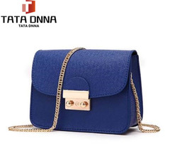 Women Bags PU leather Messenger Bag Clutch Bags Designer Mini Shoulder Bag Women Handbag blue one size
