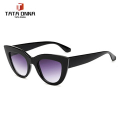 Women Sunglasses Tinted Color Lens Men Vintage Shaped Sun Glasses Female Eyewear Blue Sunglasses 1 one size