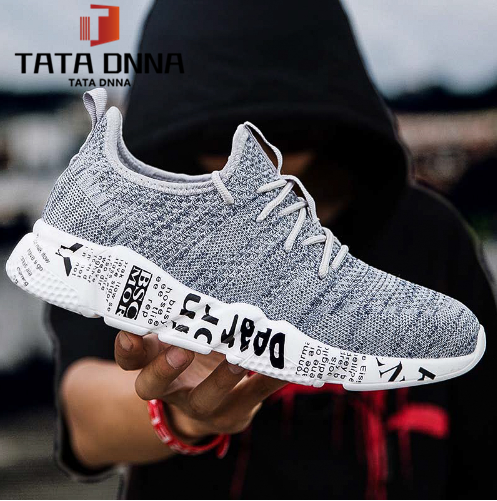 Explosion promotion in 2019, low price one day snapped up,Sneakers Men Trendy Shoes Male breathable gray 39