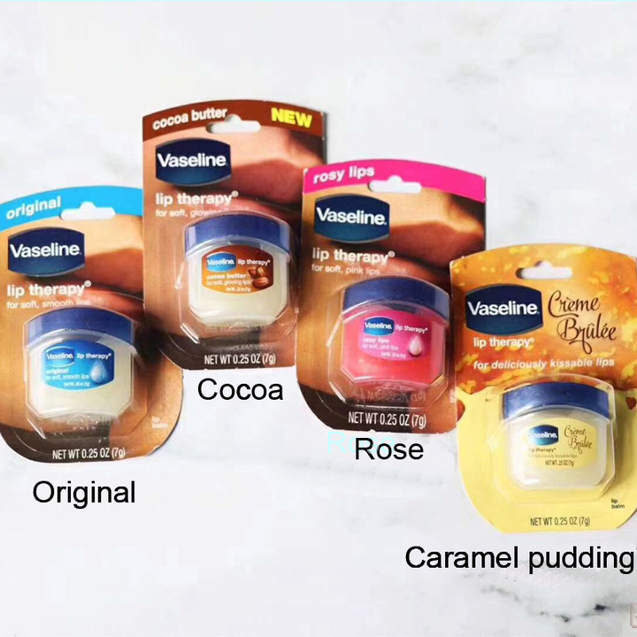 Vaseline Lip Balm Lasting Long Lip Therapy Soft and Smooth Lips Anti Wrinkle Aging Refresh Nourish