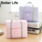 Oxford cloth waterproof Travel Bags Carry-on Tote Shoulder Bags big size Women's shipping handbags Pink 45*65*17cm