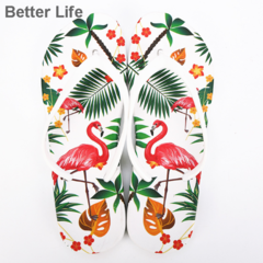 Soft Comfort Flamingo Thong Style Flip Flops for Women with Comfortable Walk, home slippers&Sandals Pink 36