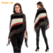 Women's Elegant Coats Soft Cotton Cardigans Tassel Shawls Wraps Sweaters for Spring Jackets Coffee Free Size