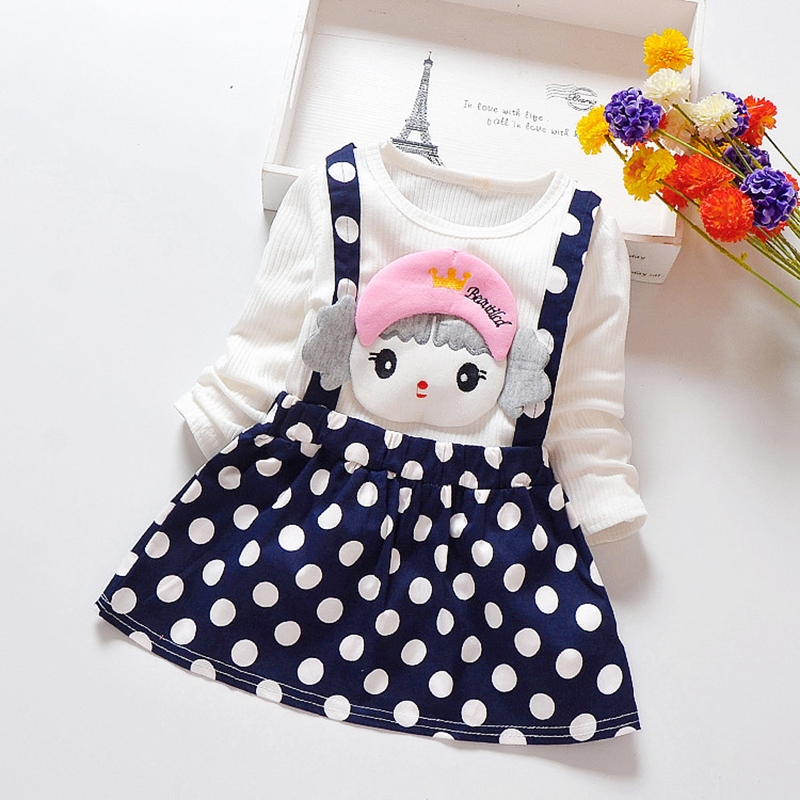 D Baby Kid Girls Princess Baby Dress Newborn Infant Baby Girl Clothes Xq003a 90 80cm