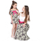 D-baby 1PC Mother or BABY Girl Dress Stiped Vest Summer Casual Dresses Toddler Kids Girl Clothing QZ001A (1PC) 80(girl)