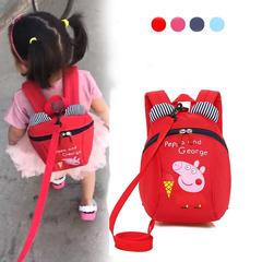D-baby Cartoon children to prevent the loss of backpacks, boys and girls lovely backpacks A 20cm*24cm*10cm