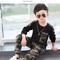 D-baby Cool Big Boy Autumn Boys Sport Suit Children Boys Clothing Set Toddler Casual Kids Clothes XG001A 120(110cm)