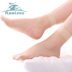 Ms. Crystal stockings, sweat-absorbent, wear-resistant, shallow mouth, women's stockings skin tone elasticity