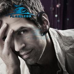 new Wireless Bluetooth Earphone Ear Hook Painless Headset Sport Headset mini black