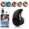 Mini S530 Wireless Bluetooth Earphone Stereo Headset with MIC Bluetooth Headphone black