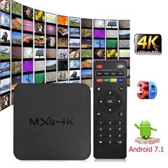 MXQ 4K Smart TV Box Android 7.1 RK3229 Quad Core 2G 16G Set top Box Media Player Receiver 2.4G WIFI MXQ-4K RK3229 2G RAM + 16G ROM
