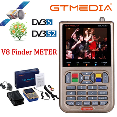 GTMEDIA V8 Finder Satellite Finder Digital Sat Finder DVB S2 Full HD 1080P Meter Satfinder Freesat GTMEDIA V8 Finder